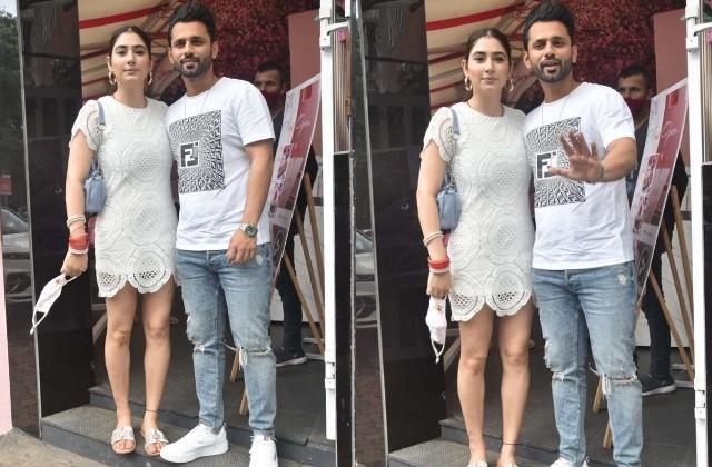 disha parmar lunch date with husband rahul vaidya
