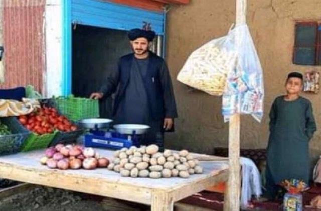 afghan singer habibullah sahab selling vegetables after give up singing