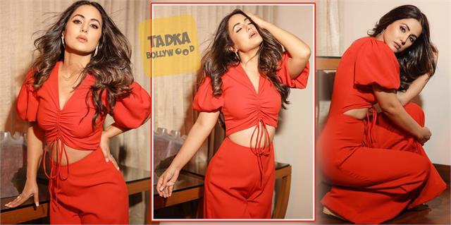 hina khan looks glamorous in latest photoshoot