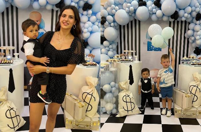 natasa stankovi hardik pandya celebrate baby agastya first birthday