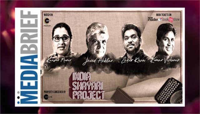 javed akhtar to headline zee live india shayari project