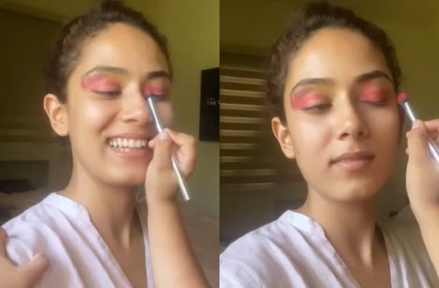 daughter misha did makeup mother mira rajput