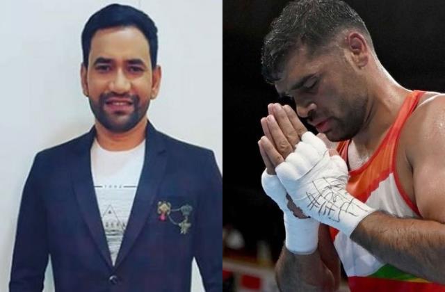 dinesh lal yadav became fan of boxer satish kumar