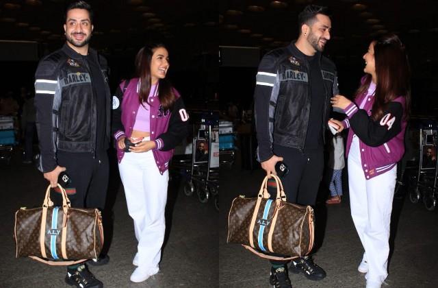 jasmin bhasin spotted with boyfriend aly goni