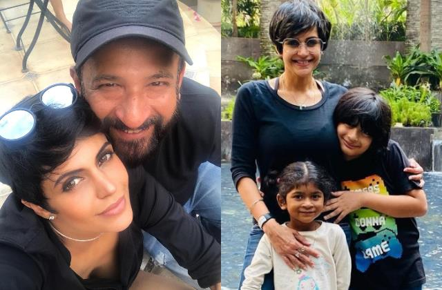mandira remember husband birth anniversary says hope you have our back