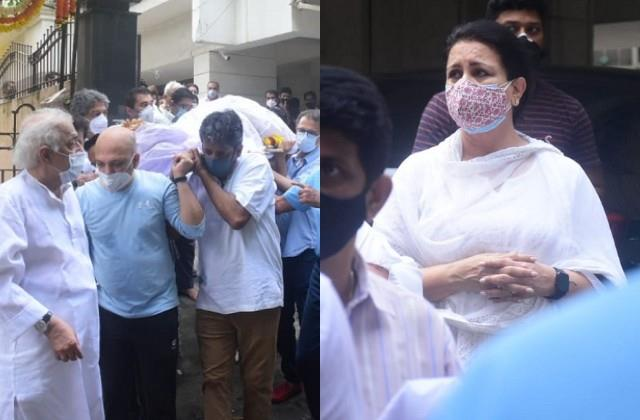 late pradeep guha s family and friends come together at funeral