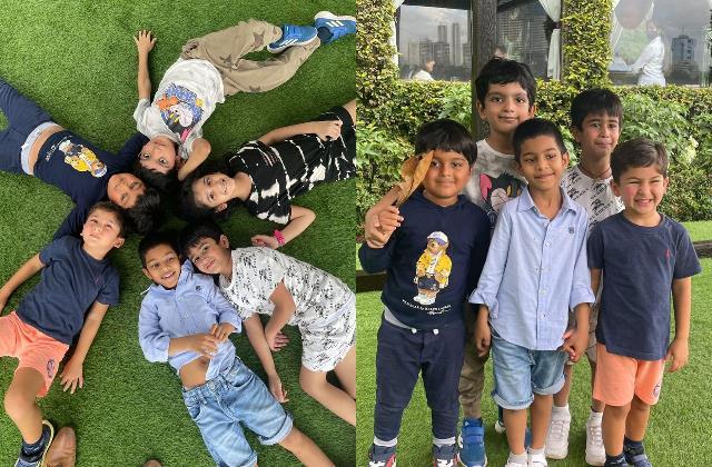 kareena kapoor shares pics of son taimur enjoys road trip with friends