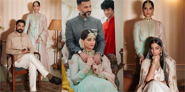 sonam kapoor shares unseen pics from rhea kapoor karan boolani wedding