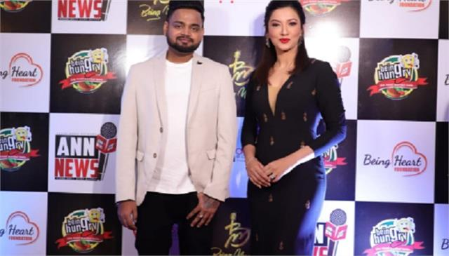 gauahar khan launches akash kumar new start up ventures on his birthday