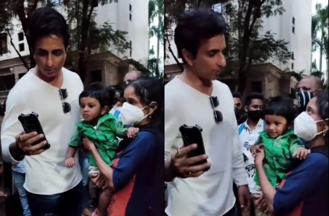 sonu sood solve the problem on the complaint of a lady
