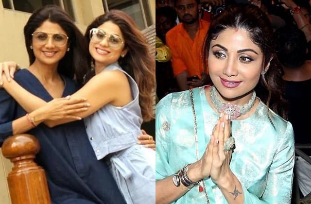 shilpa shetty got full support from bollywood stars and sister shamita shetty