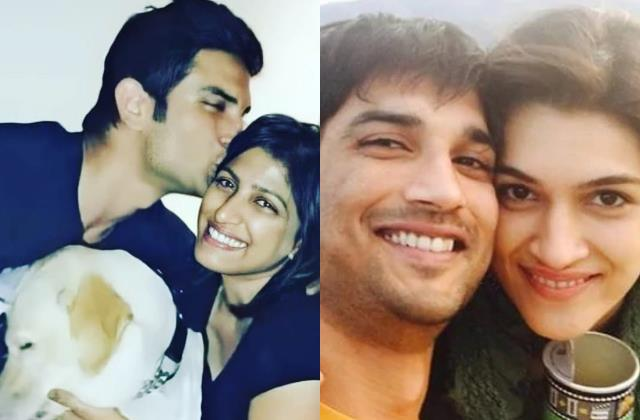 sushant sister shares picture with actor kriti sanon have such reaction