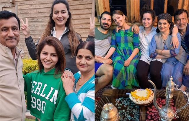 rubina dilaik wish parents 35th wedding anniversary with lovely family pictures