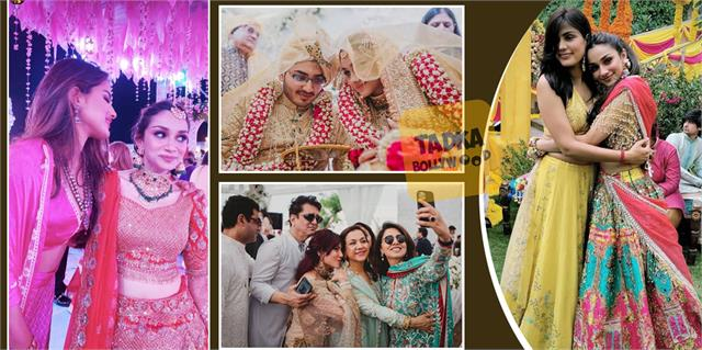 rumy jafry daughter ties knot with hyderabad based businessman amir mohammed haq