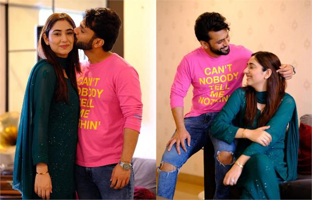 rahul vaidya and disha parmar lovey dovey moments pictures viral on internet