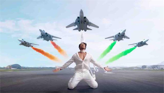 tiger shroff new single vande mataram is out now