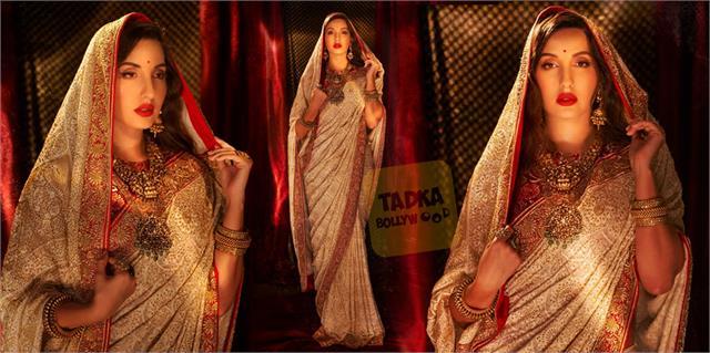nora fatehi royal look viral