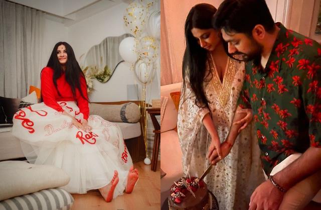 rhea kapoor karan boolani gets best reception party by friends