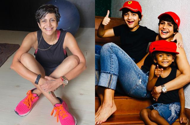 mandira bedi is all smiles in her latest picture for her little daughter tara