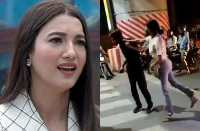 gauahar khan salute lucknow cab driver and slams woman who beat him