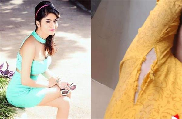 gehana vasisth share her picture in torn clothes