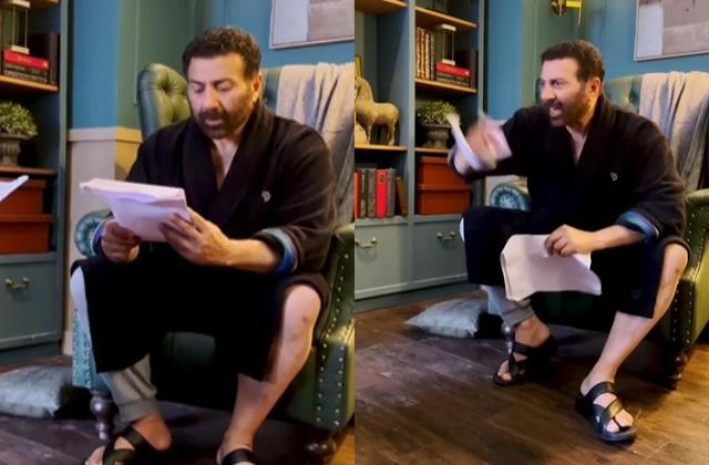 sunny deol got angry while delivering his dialogue from damini