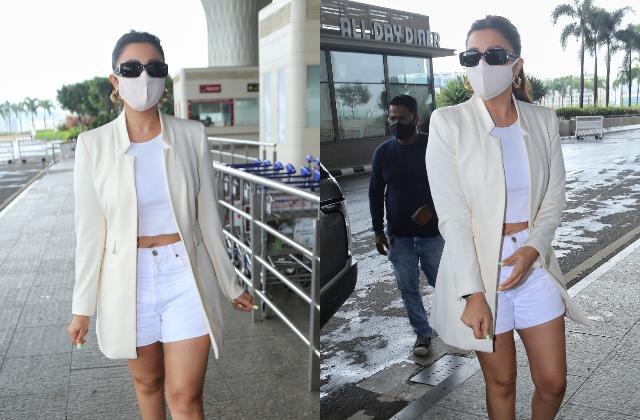 parineeti chopra stylish appearance at the airport