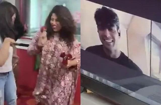 rj malishka trolled by dancing in front of neeraj chopra in live interview