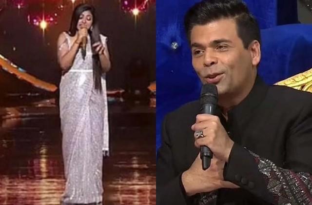 karan johar impress by arunita singing offer to be part of dharma family
