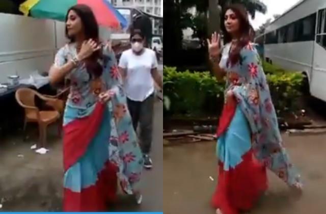 shilpa shetty returns to super dancer 4 sets amidst arrest of raj kundra