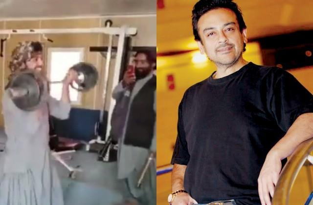 adnan sami furious after seeing taliban workout in the gym