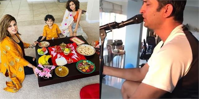 sushant sisters priyanka and shweta singh kirti celebrated krishna janmashtami