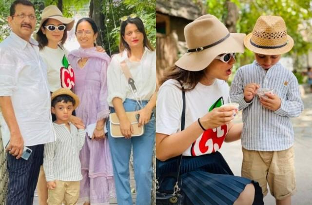 kangana ranaut spending quality time with the family