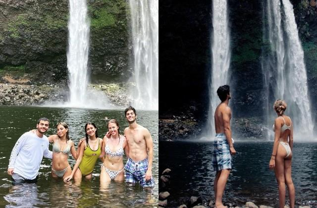 aaliyah kashyap enjoys vacation with friends in hawaii