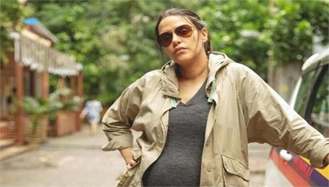 8 months pregnant neha dhupia plays an expecting cop in a thursday