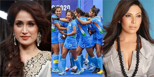 sagarika and shilpa praised indian women hockey team for reaching semi final