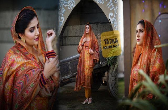 sapna choudhary shares her beautiful photos