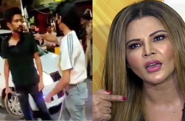 rakhi sawant comes support of lucknow cab driver against girl