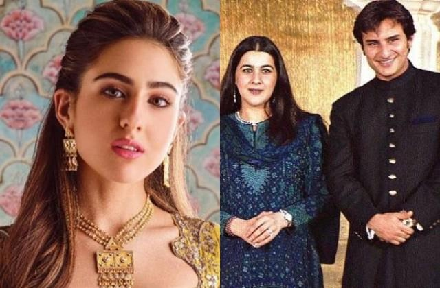 sara ali khan on parents saif ali khan and amrita singh divorce