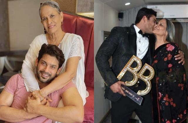 when sidharth shukla mother rita wrote emotional open letter for his son