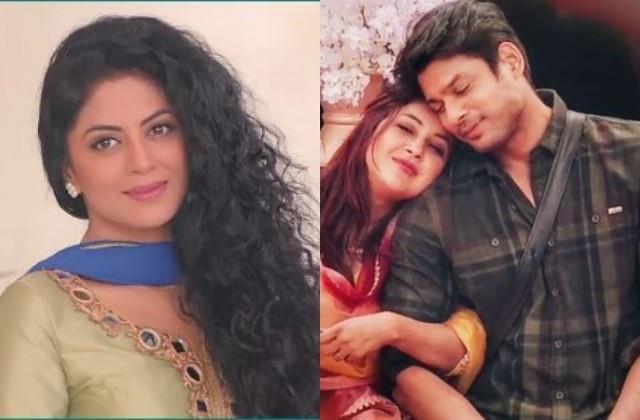 kavita kaushik asks shehnaaz to make sidharth  proud