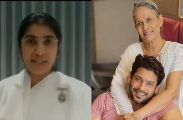 sister shivani reveals what sidharth shukla mother said after his demise