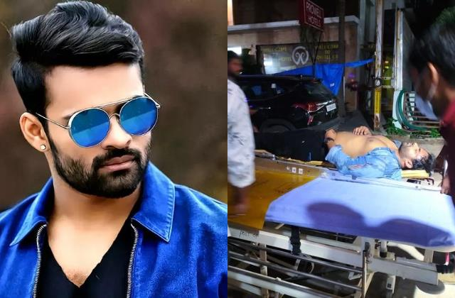 sai dharam tej meets with a bike accident actor condition stable