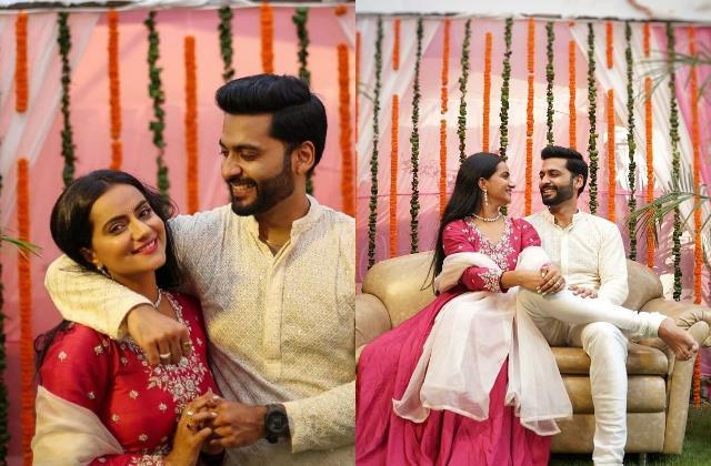 aastha chaudhary engaged with boyfriend aditya banerjee