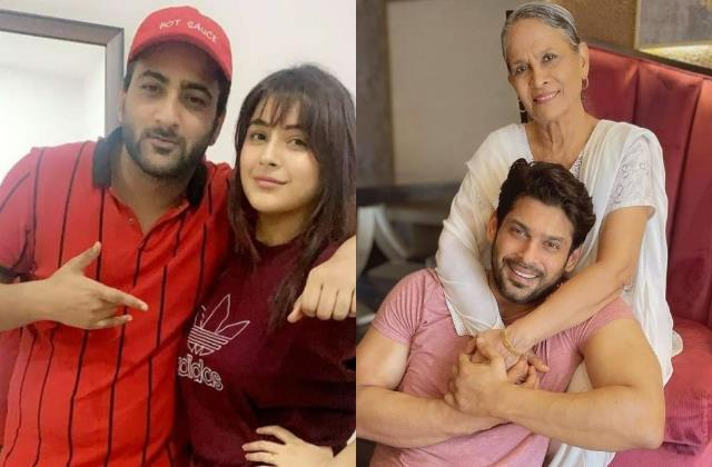 shehnaaz brother share photo late sidharth says your family my family