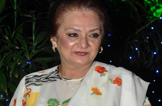 dilip kumar wife saira banu out of icu and refused for angiography