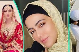 bigg boss fame sana khan married maulana who use to call her sister
