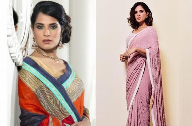 richa chadda furious at restaurant for not letting woman in saree