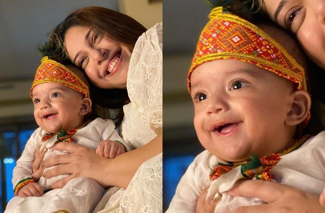 mohit malik addite share first picture of son ekbir