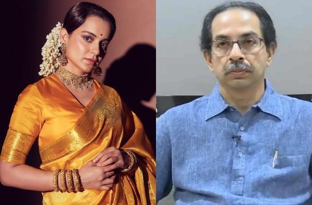 kangana ranaut anger on cm uddhav thackrey about mumbai cinemas